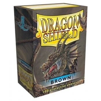 Dragon Shield Brown Sleeves (100)