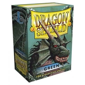 Dragon Shield Green Sleeves (100)