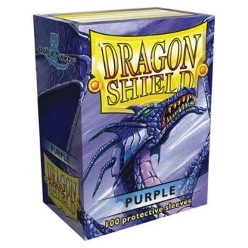 Dragon Shield Purple Sleeves (100)