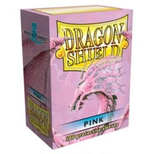 Dragon Shield Pink Sleeves (100)
