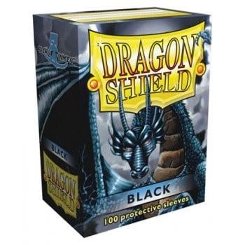 Dragon Shield Black Sleeves (100)