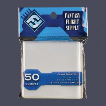 FFG Clear Sleeves - Mini European Board Game (50)