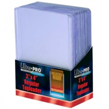 1 Case of Ultra Pro Top Loaders 3x4 (76 x 102mm)