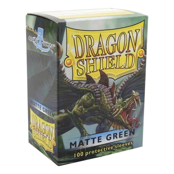 Dragon Shield Standard Sleeves - Matt Green (100)