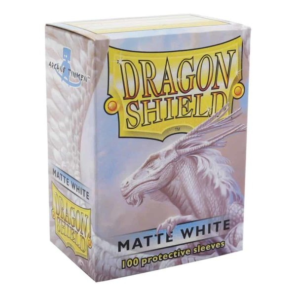 Dragon Shield Standard Sleeves - Matt White (100)