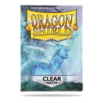 Dragon Shield - Matt Clear (100)