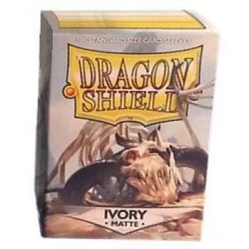 Dragon Shield - Matte Ivory (100 Sleeves)