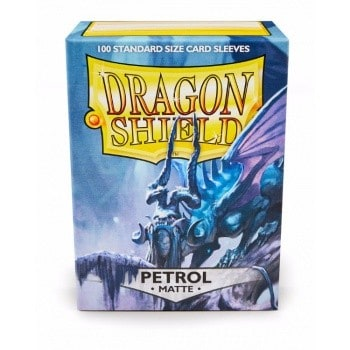 Dragon Shield - Matte Crimson (100 Sleeves)