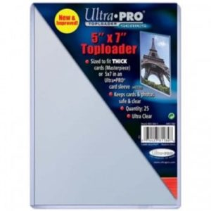 "UP - Toploader - 5 x 7"" (25 pieces)"