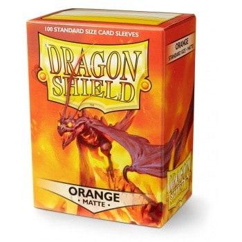 Dragon Shield - Matte Orange (100)