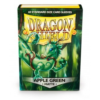 Dragon Shield - Matte Apple Green (100 Sleeves)