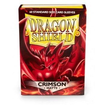 Dragon Shield - Matte Crimson (60 Sleeves)