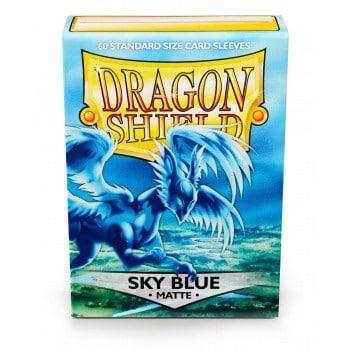 Dragon Shield - Matte Sky Blue (60 Sleeves)