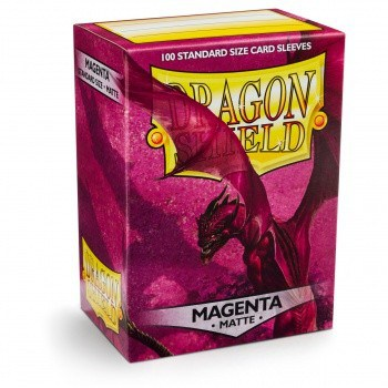 Dragon Shield - Matte Crimson (100)