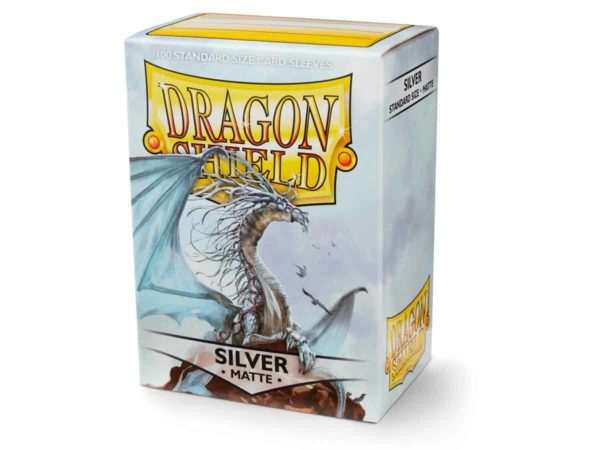 Dragon Shield - Matte Gold (100 Sleeves)