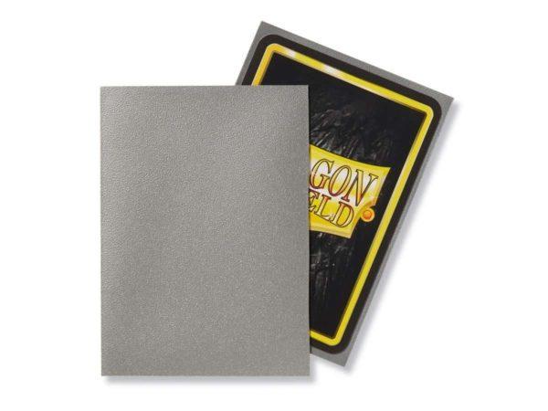 Dragon Shield - Matte Silver (100 Sleeves)