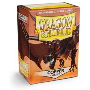 Dragon Shield - Matte Copper (100 Sleeves)
