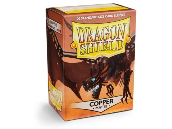 Dragon Shield - Matte Copper (100 Sleeves)