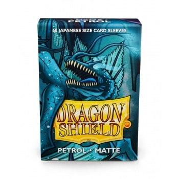 Dragon Shield Small Sleeves - Matte Petrol (60)