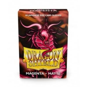 Dragon Shield Small Sleeves - Matte Magenta (60) - pre-order