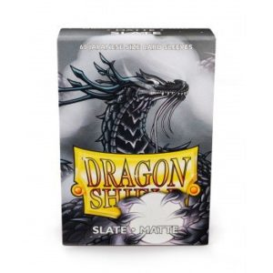 Dragon Shield Small Sleeves - Matte Slate (60) - pre-order