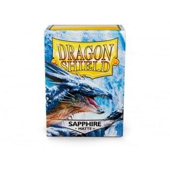 Dragon Shield - Matte Silver (100 Sleeves) *NEW*