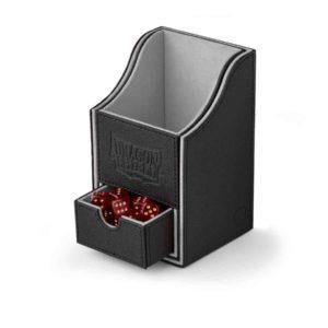 Dragon Shield Nest+ Box 100+ Black/Light Grey (staple) - SEPT RELEASE