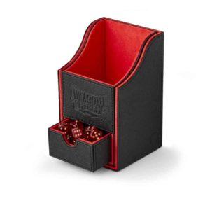 Dragon Shield Nest+ Box 100+ Black/Red (staple) - SEPT RELEASE
