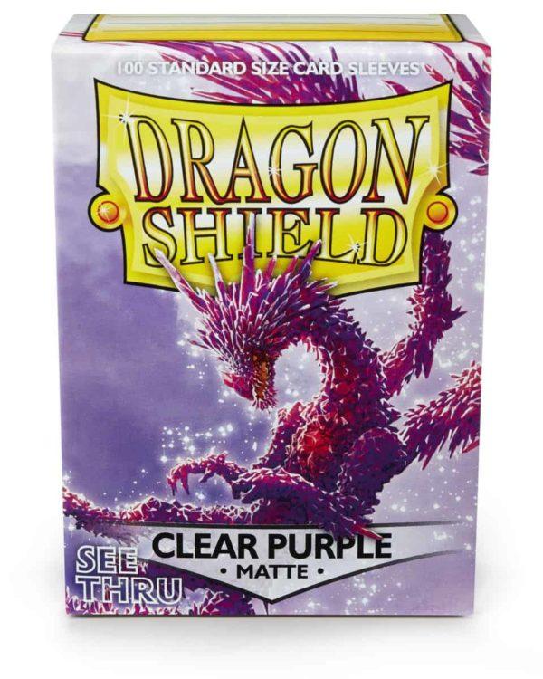 Dragon Shield - Matte Blue (100)