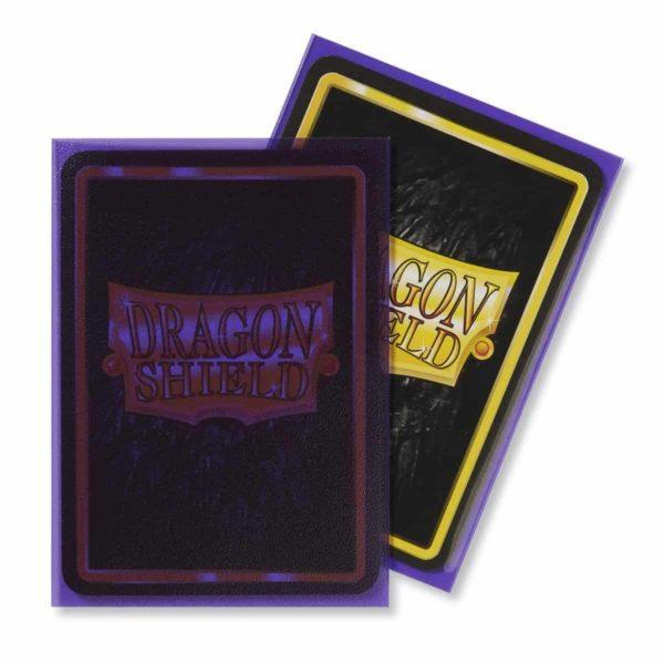 Dragon Shield - Clear Matte Purple (100)