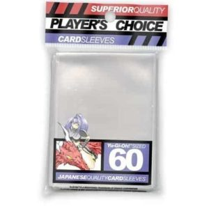 Players Choice Small Sleeves Red (60 Sleeves) - Pre-order