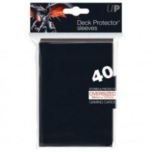 UP - Oversized Sleeves - Magic - Black (40 Sleeves)