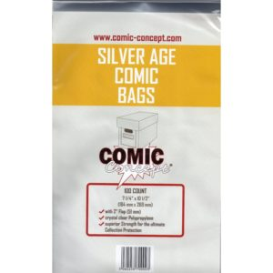 Comic Bags, Boards & Storage